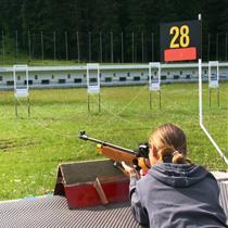 Šaudymas biatloniniais ginklais vaikams