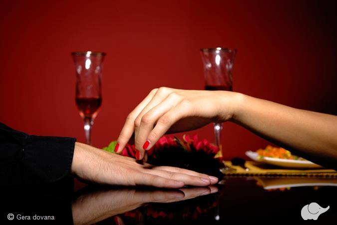 VIP vakarienė visiškoje tamsoje dviem