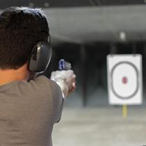 Šaudymo programa NR. 1 šaudykloje OKSALIS